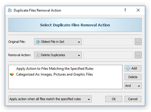 DupScout - Duplicate Files Finder - Rule-Based Duplicate Files